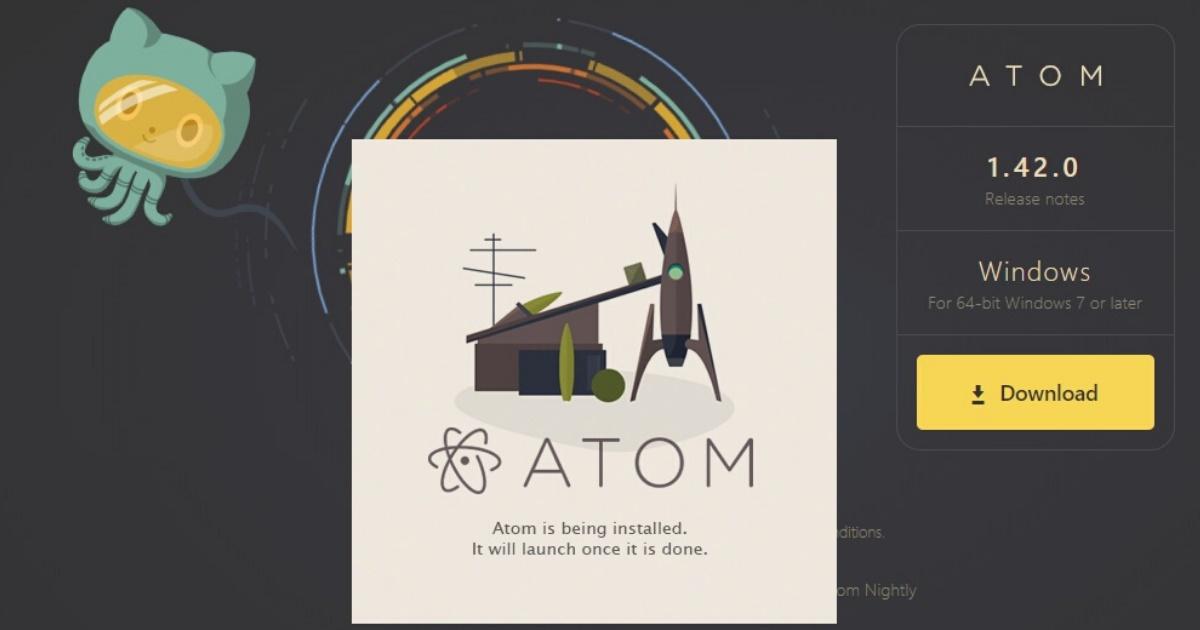 プログラミングにはATOMを使え