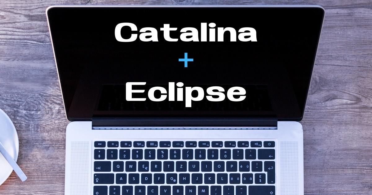 macOS CatalinaにEclipse(日本語版)をセットアップする手順