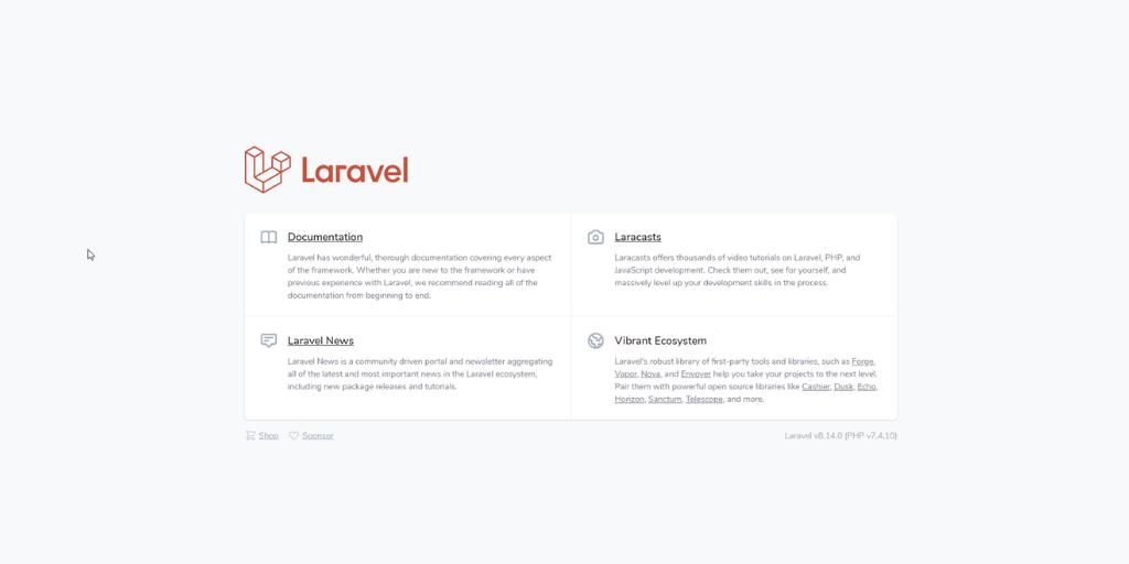 Laravelのインストール手順(Windows)